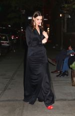 ANNE HATHAWAY Night Out in New York 11/15/2017