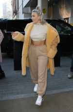 ANNE MARIE Leaves BBC Radio 1 Studios in London 11/23/2017