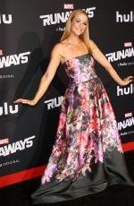 ANNIE WERSCHING at Runaways Premiere in Los Angeles 11/16/2017