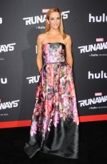 ANNIE WERSCHING at Runaways Premiere in Los Angeles 11/16/2017