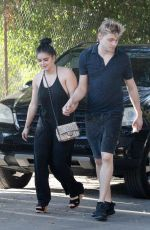 ARIEL WINTER and Levi Meaden at a Birthday Party in Los Angeles 11/26/2017