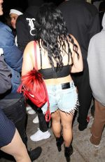 ARIEL WINTER Arrives at Halloween Party at Delilah in West Hollywood 10/31/2017
