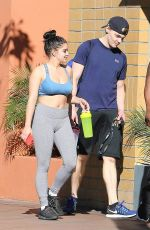 ARIEL WINTER Heading to a Gym in Los Angeles 11/25/2017