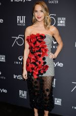ARIELLE KEBBEL at HFPA & Instyle Celebrate 75th Anniversary of the Golden Globes in Los Angeles 11/15/2017