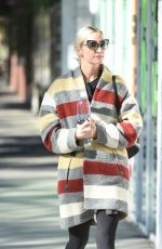 ASHLEE SIMPSON Heading to a Gym in Los Angeles 11/07/2017