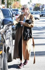 ASHLEE SIMPSON Out in Studio City 11/28/2017