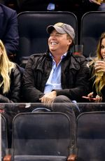 ASHLEY BENSON at Boston Bruins vs New York Rangers Game in New York 11/08/2017