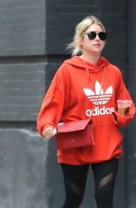 ASHLEY BENSON Out and About in New York 11/08/2017