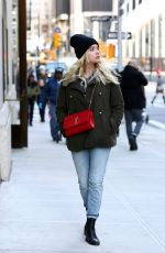 ASHLEY BENSON Out and About in New York 11/13/2017
