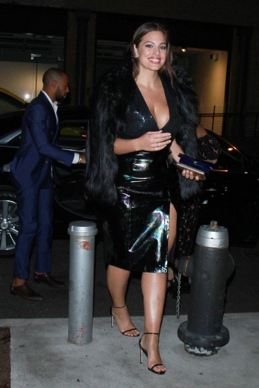 ASHLEY GRAHAM Arrives at a Party at Whitney Museum 11/14/2017