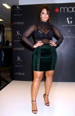 ASHLEY GRAHAM at Lingerie Collection Launch at Macy