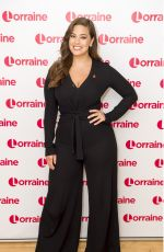 ASHLEY GRAHAM at Lorraine Show in London 11/02/2017