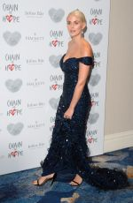 ASHLEY JAMES at Chain of Hope Gala in London 11/17/2017