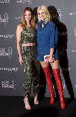 ASHLEY JAMES at Gigi Hadid x Maybelline Party in London 11/07/2017
