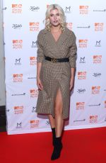 ASHLEY JAMES at MTV Staying Alive Gala in London 11/08/2017