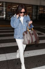 ASHLEY TISDALE at LAX Airport in Los Angeles 11/17/2017