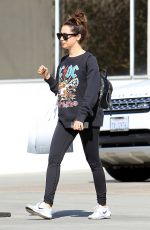ASHLEY TISDALE Shopping on Rodeo Drive in Beverly Hills 11/06/2017