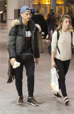 ASHLEY WAGNER at Airport in Montreal 11/22/2017