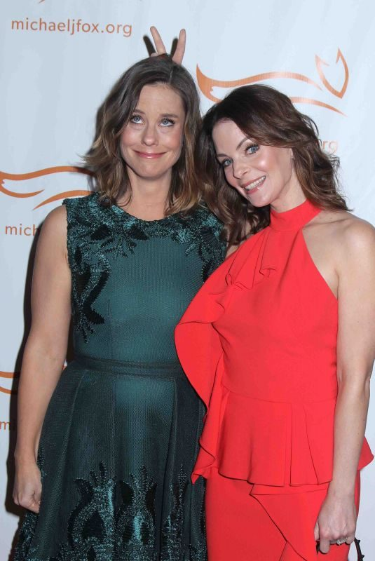 ASHLEY WILLIAMS and KIMBERLY WILLIAMS-PAISLEY at A Funny Thing Happened on the Way to Cure Parkinson's Event in New York 11/11/2017