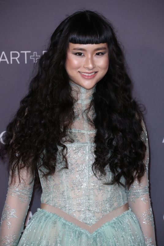 ASIA CHOW at 2017 LACMA Art + Film Gala in Los Angeles 11/04/2017