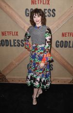 AUDREY MOORE at Godless Series Premiere in New York 11/19/2017