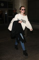 AVA PHILLIPPE at Los Angeles International Airport 11/27/2017
