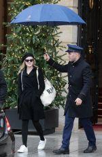 AVA PHILLIPPE Leaves Ritz Hotel in Paris 11/25/2017