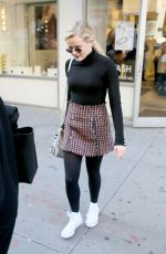 AVA PHILLIPPE Out and About in New York 11/02/2017