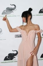 BAI LING at Tusk after Dusk Benefit for Wildlifesos in Hollywood 11/04/2017