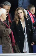 BARBARA PALVIN at PSG vs Nantes Game in Paris 11/18/2017