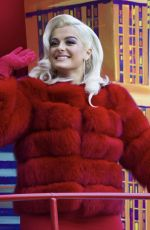 BEBE REXHA at Macy's Thanksgiving Day Parade in New York 11/23/2017