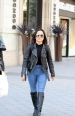BECKY G Out and About in Barcelona 10/31/2017