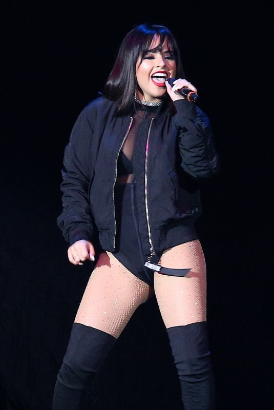 BECKY G Performs at American Airlines Arena in Miami 11/11/2017