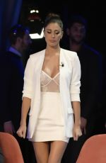 BELEN RODRIGUEZ at Maurizio Costanzo Show in Rome 11/22/2017