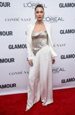 BELLA HADID at Glamour Women of the Year Summit in New York 11/13/2017