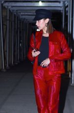 BELLA HADID Out and About in New York 11/09/2017