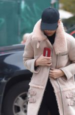 BELLA HADID Out and About in New York 11/13/2017