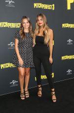 BELLA VARELIS and JADE TUNCDORUK at Pitch Perfect 3 Premiere in Sydney 11/29/2017