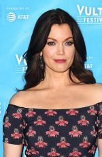 BELLAMY YOUNG at Scandal Panel at Vulture Festival in Los Angeles 11/18/2017
