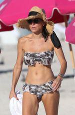 BETHENNY FRANKEL in Bikini on the Beach in Miami 11/05/2017