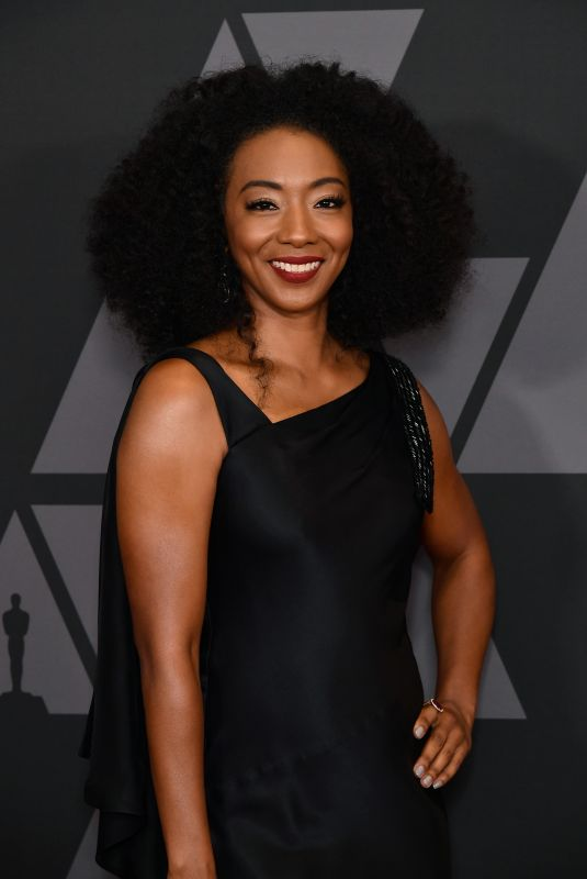 BETTY GABRIEL at AMPAS 9th Annual Governors Awards in Hollywood 11/11/2017