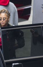 BEYONCE and Jay-Z Out in New Orleans 11/09/2017