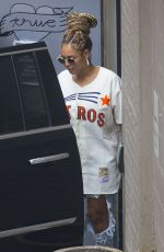 BEYONCE Leaves Dooky Chase Restaurant in New Orleans 11/08/2017