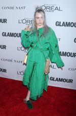 BILLIE EILISH at Glamour Women of the Year Summit in New York 11/13/2017