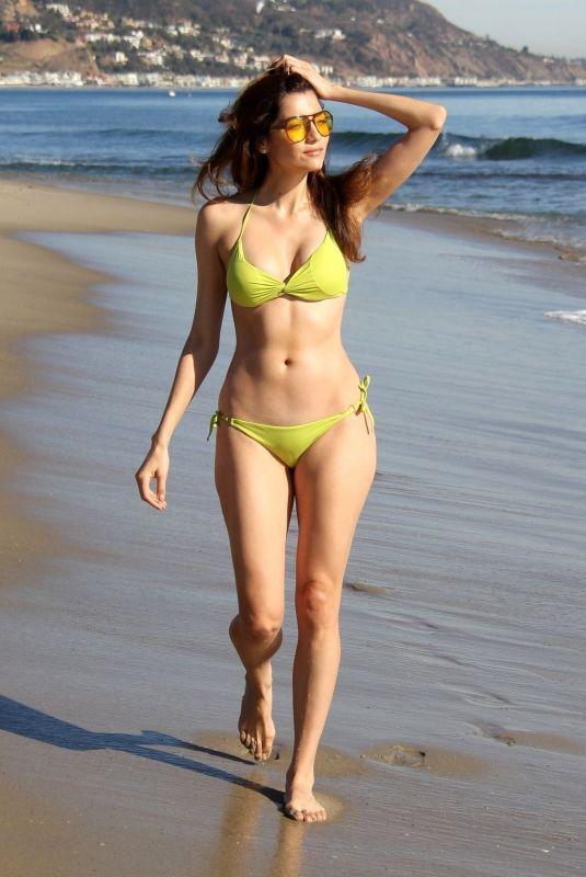 BLANCA BLANCO in Bikini at a Beeach in Malibu 11/23/2017