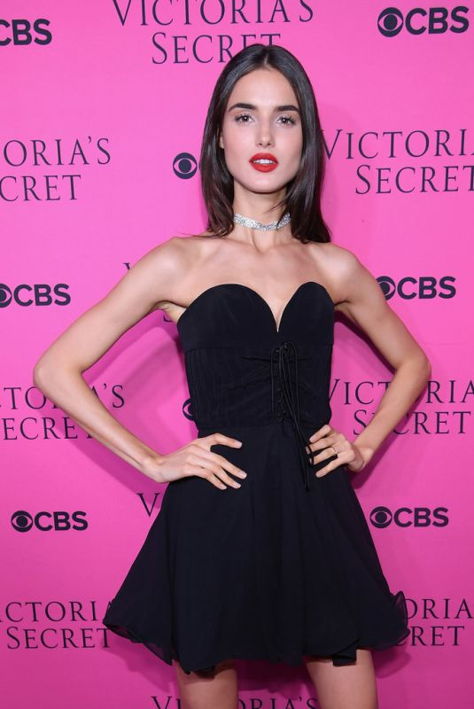 BLANCA PADILLA at 2017 Victoria's Secret Fashion Show Viewing Party in New York 11/28/2017