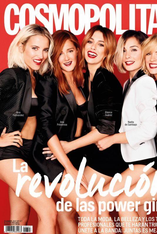 BLANCA SUAREZ in Cosmopolitan Magazine, Spain December 2017 Issue