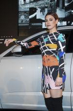 BLANCA SUAREZ Presents New Jaguar E-Pace in Madrid 11/25/2017