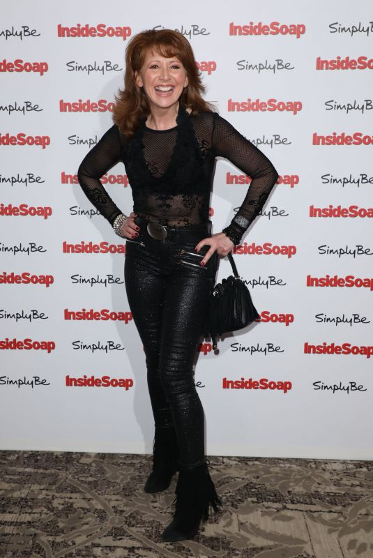 BONNIE LANGFORD at Inside Soap Awards 2017 in London 11/06/2017