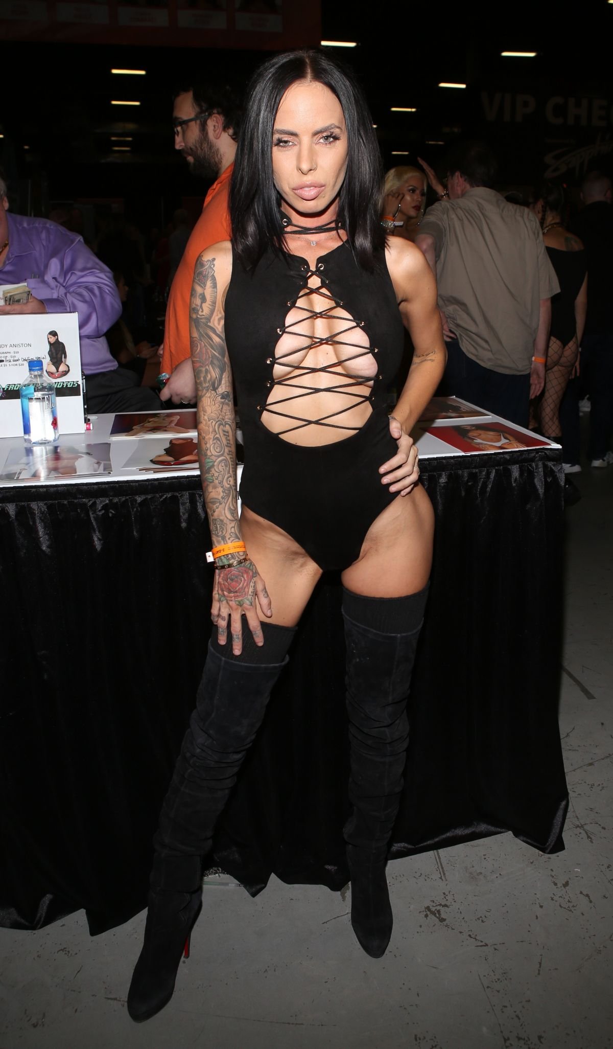 BRANDY ANISTON at Exxxotica Expo 2017 in New Jersey 11/03 ...